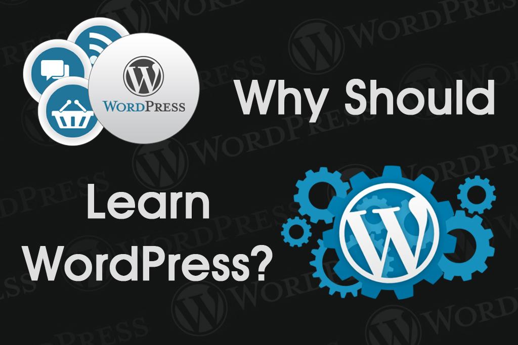 Why should learn WordPress ?
