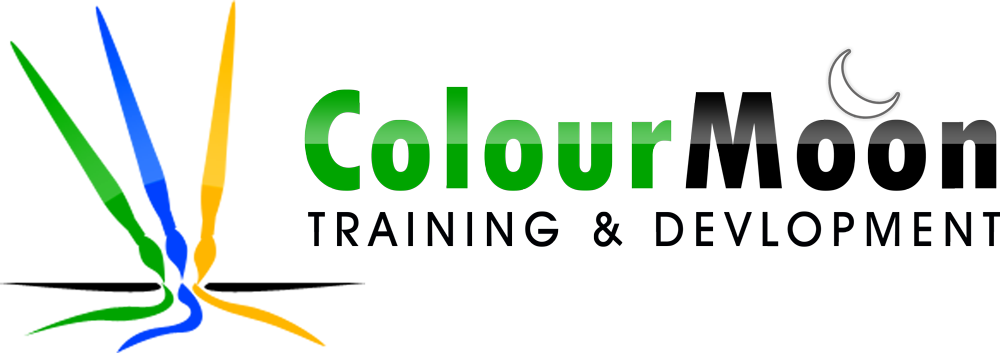 ColourMoon Training and Development Logo